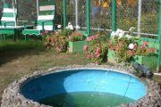 Vrtni bazenček iz pnevmatike